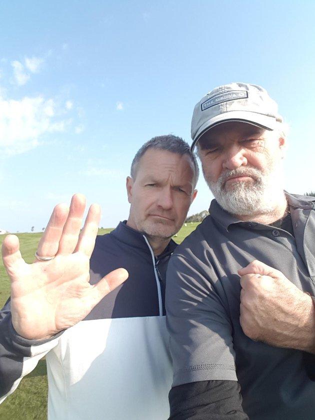 Frode Øverli og Atle Nielsen - if you´re looking for trouble!