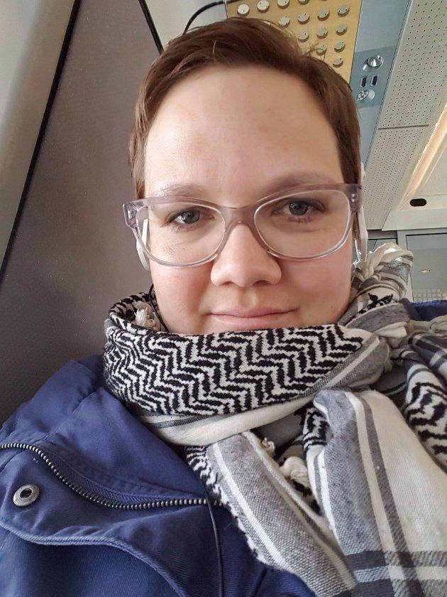 Astrid Kjelsnes, hovedtillitsvalgt i Skolenes landsforbund