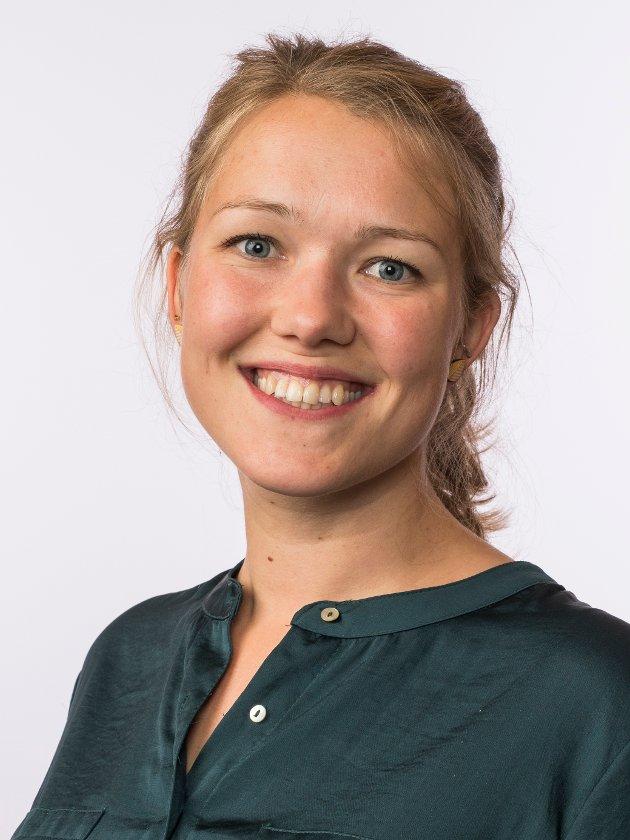 Une Bastholm, leder i Miljøpartiet De Grønne