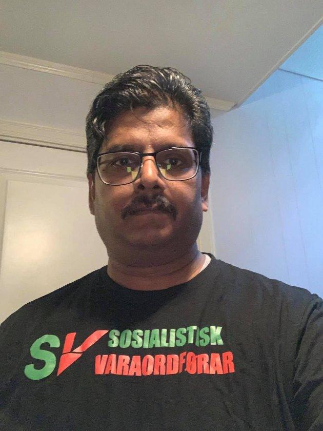 Det er mange grunner til at jeg stemmer SV. Jeg har lyst til å dele med deg hva er de viktigste grunnene for at jeg stemmer SV., skriver Parabaran Rajalingam Spesialsykepleier, Varaordfører(SV) Karlsøy