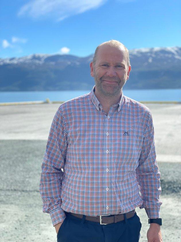 Nils Ole Foshaug, andrekandidat for Troms Arbeiderparti.
