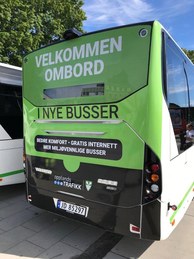MÅL: – Vårt mål er at flest mulig skal vurdere Innlandstrafikk som et reelt alternativ i hverdagen, og forhåpentligvis vil det bidra til at vi fortsetter å øke antallet kollektivreisende. skriver fylkesordføreren.