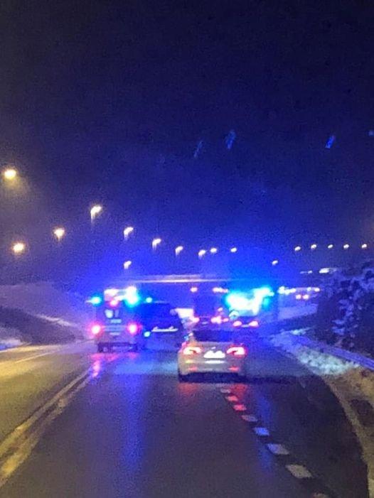 UTSATT: Ulykkesutsatte rv4 er blant annet Raufoss-industriens fartsåre ut til eksportmarkedene. En sammenhengende utbygging av veien mellom Sinsen og Mjøsbrua er langt på overtid.