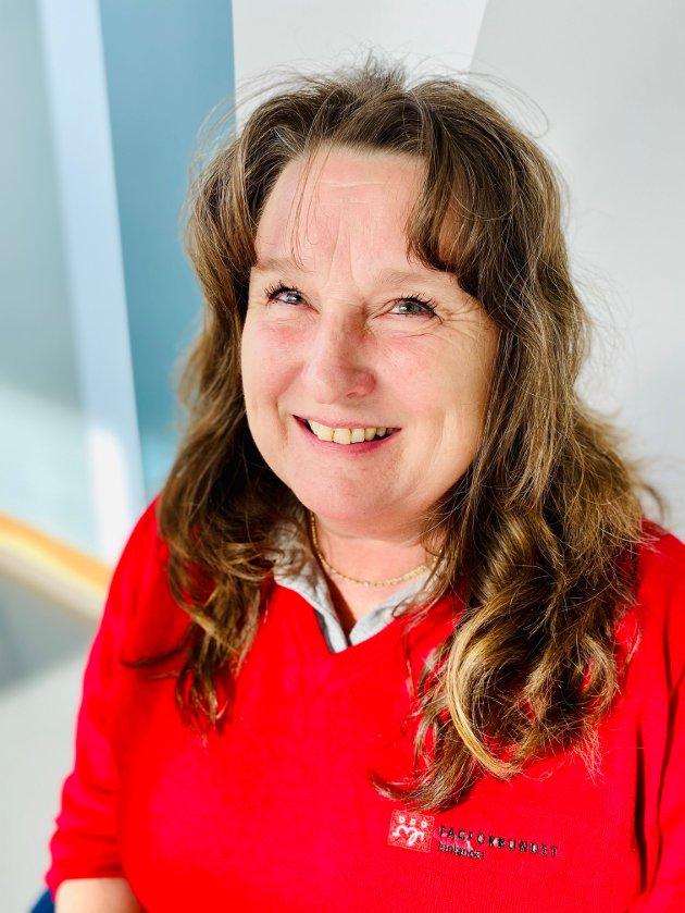 Else Karin Jakobsen, leder yrkesseksjon Helse og Sosial