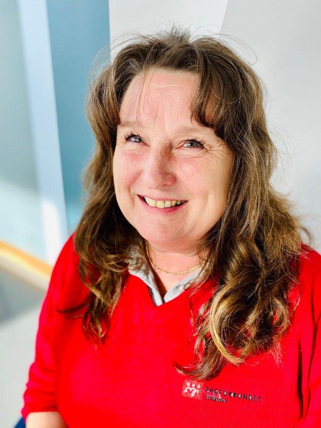 HELTID: – For å løse deltidskrisa trenger vi en lovfesta rett til heltid. De rødgrønne partiene støtter dette. Gjør Høyre det samme? spør Else Karin Jakobsen, Fagforbundet Innlandet.