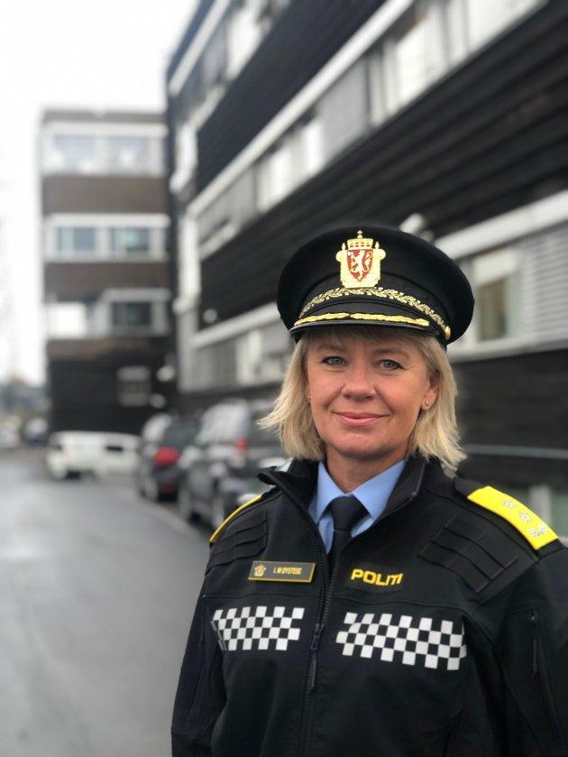 ENGASJERT: Ida Melbo Øystese er konstituert politimester i Øst politidistrikt.