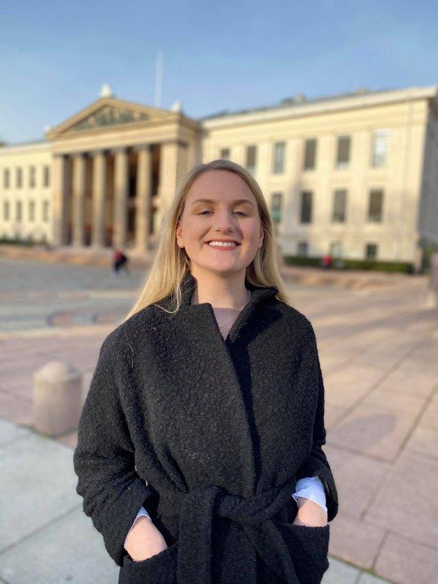 Jenny Sofie Andresen, medlem av Arbeidsutvalget i Akershus Unge Høyre