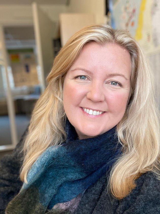 Kari-Lise Rørvik, leder Larvik V