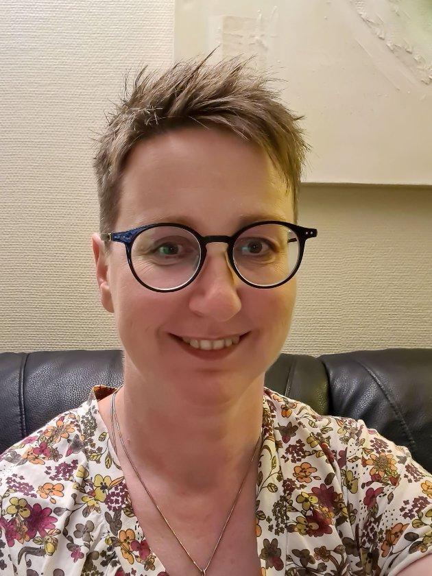 Eliza Maria Gudem, lokallagsleder Larvik Senterparti