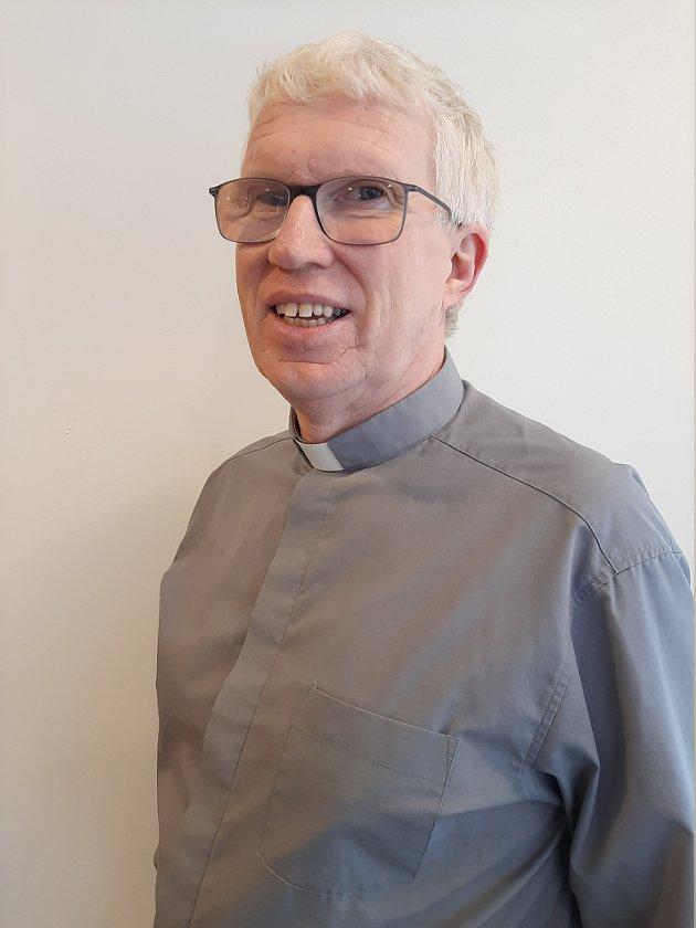 Idar Halvorsen, pastor i Larvik Metodistkirke