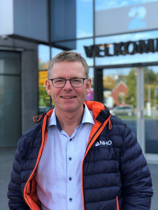 Regiondirektør Jon Kristiansen