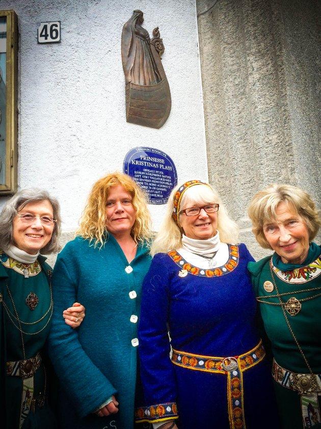 Fra venstre: Renate Blindheim, Nina Nesje, Maria Magdalena Holth og Styreleder Anna Evelyn Lindhjem.