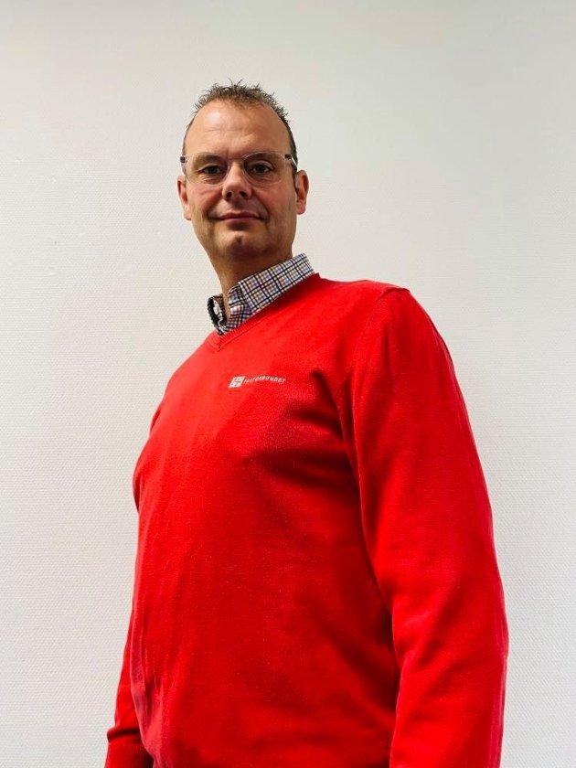 Anders Kollmar-Dæhlin, leder yrkesseksjon Samferdsel og Teknisk