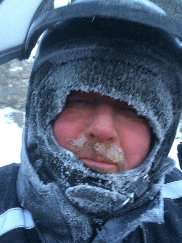 Her er det kaldt å kuslig Karl