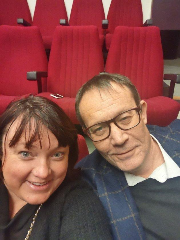Margrethe Prahl Reusch og Jan Petter Myrvold, medlemmer av hovedutvalg for kultur Lillestrøm kommune