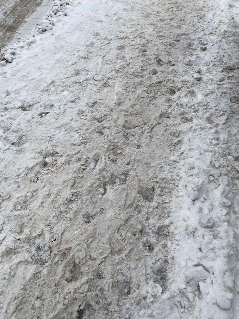 "Gangveien ""gamle Røyken"" 19.1.21 kl. 12:30"