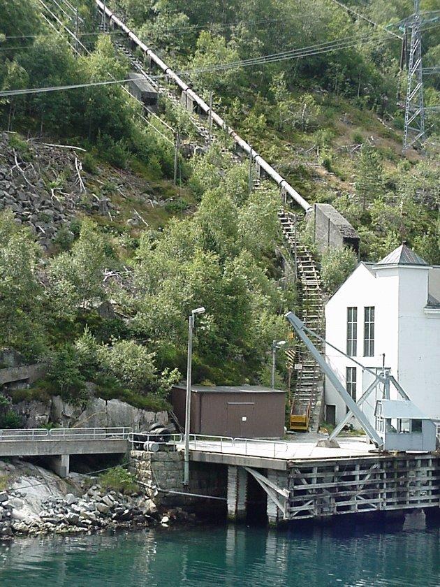 NYE SANDNES: Nye Sandnes må absolutt kunne kalles en kraftkommune. Her er bilde fra Flørli kraftverk.