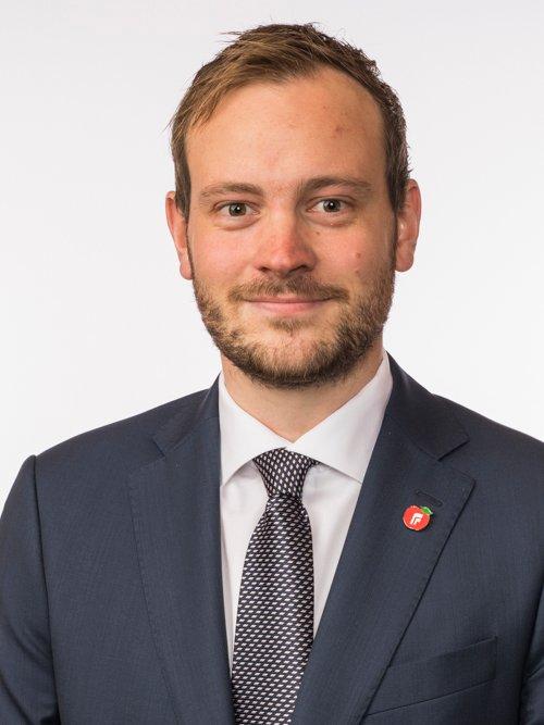 FRP: Sivert Bjørnstad er Fremskrittspartiets finanspolitiske talsmann. Han representerer Sør-Trøndelag.