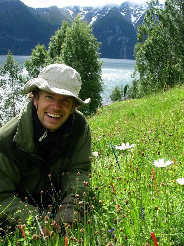 BLOGGSKRIBENT: Stein Joar Hegland er professor i økologi ved Institutt for miljø- og naturvitskap ved HVL.