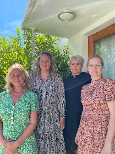 Liv Ingrid Liv Ingrid Fjellanger, Sissel Aastvedt Halland, Maritha Berger Nylund og Annette Kristoffersen Winje