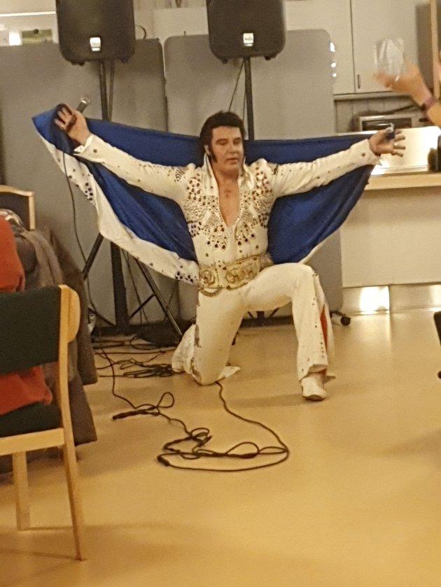 Kjell Elvis i aksjon på Sem. (Foto: Gunnar H. Sørensen)