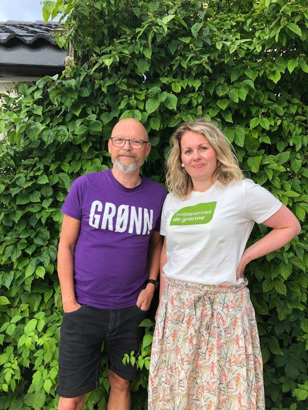 Ulf Lund Halvorsen og Julie Estdahl Stuestøl, Miljøpartiet De Grønne Tønsberg