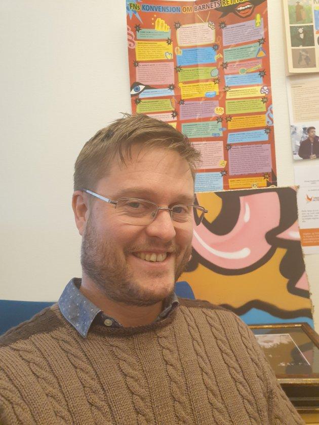 Trond Martin Sæterhaug, kulturhussjef Kulturhuset Kuben og kulturleder i Grong Kommune