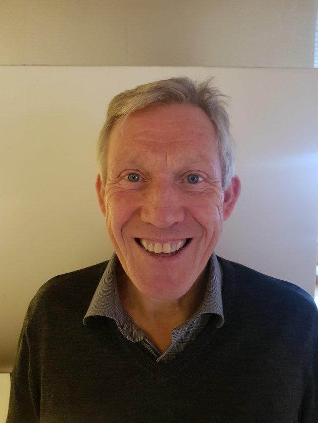 Eimund Aamot - lektor i realfag Levanger vgs