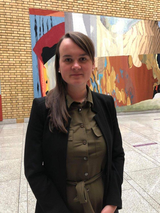 Oslo: Marit Knutsdatter Strand, stortingsrepresentant for Oppland Senterparti kommer med sin mening om domstolreformen.