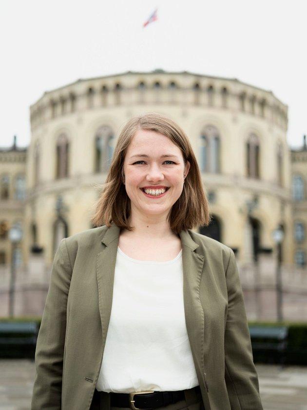 Une Bastholm står på MDGs liste for Akershus til Stortingsvalget. Det er Vestby MDGs Louise Brunborg-Næss ekstra glad for.