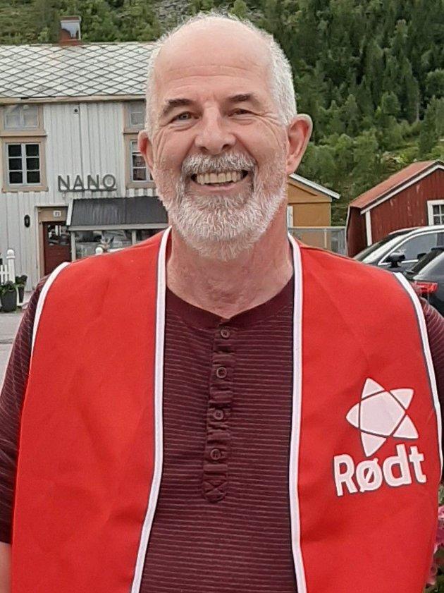 FORNØYD: - Vi sprengte sperregrensen, og valget ble et politisk gjennombrudd for Rødt, skriver Gunnvald Lindset.