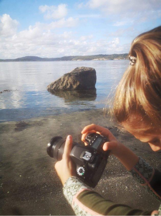 HAVET: Havet rundt Jomfruland blir en viktig del av filmsettet.
