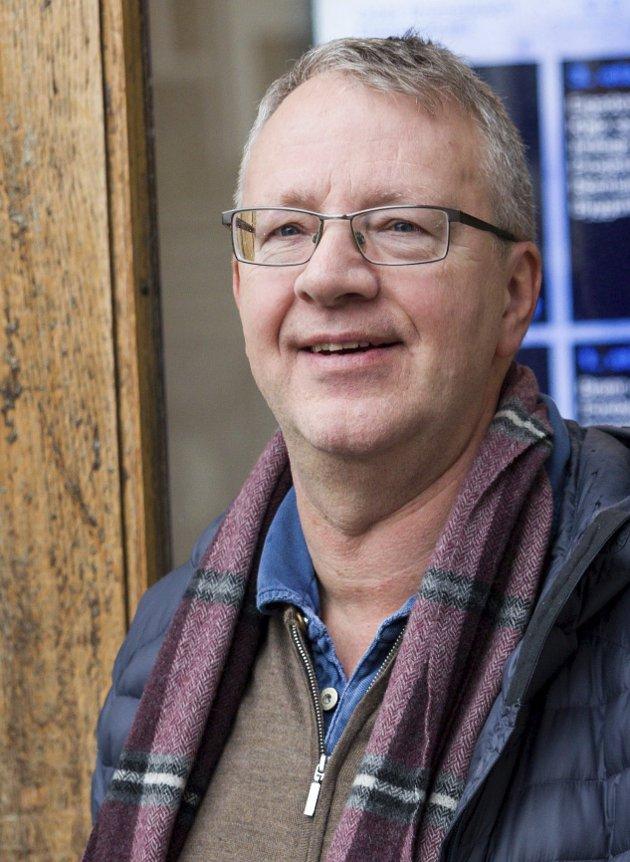 Torstein Backer-Owe: «KrF er det partiet som mest av alle kjempar for menneskeverdet», skriv leiaren i Ullensvang KrF. Arkivfoto