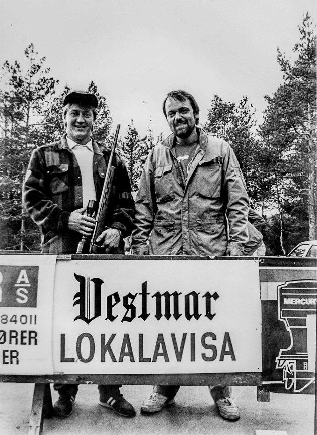 To solide skyttere Arne Herregården og Knut Magnar Eggum.