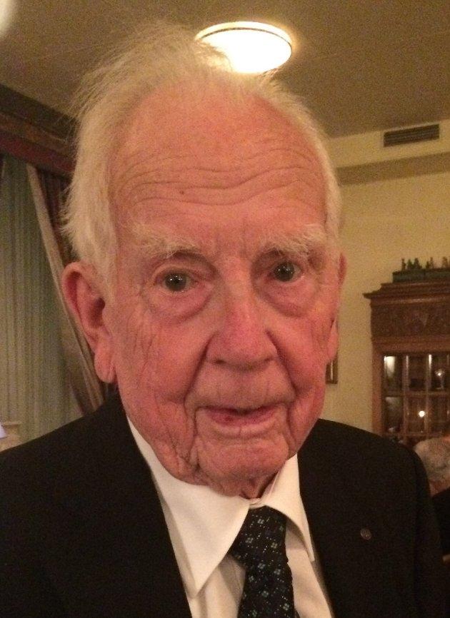 Torbjørn Johannessen ble 96 år.