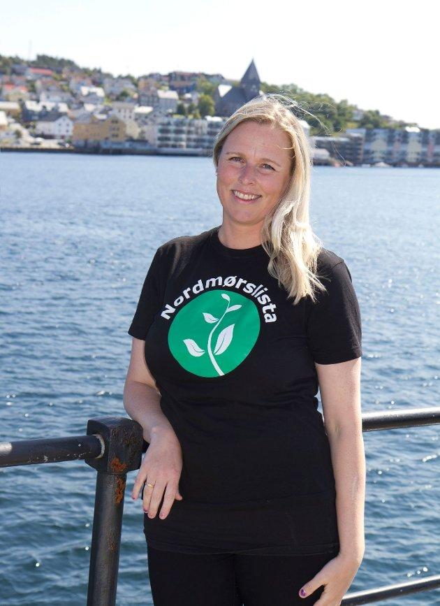 Linda Dalseg Høvik er tredjekandidat for Nordmørslista ved kommunevalget i Kristiansund og femtekandidat ved fylkestingsvalget