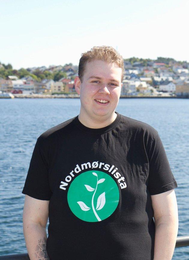 Inge Slettan Ulvund er 4.-kandidat ved kommunevalget i Kristiansund og 8.-kandidat til fylkestingsvalget for Nordmørslista.