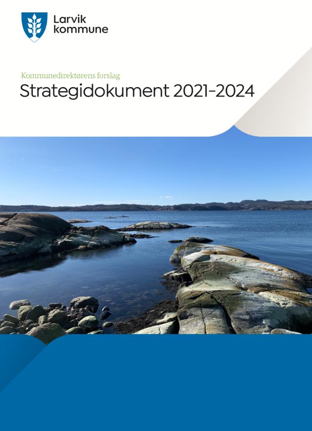 Forsiden av strategidokument 2021-2024