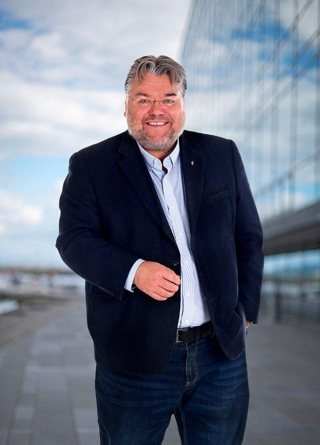 Stortingsrepresentant Morten Wold (FrP), fra Vikersund.