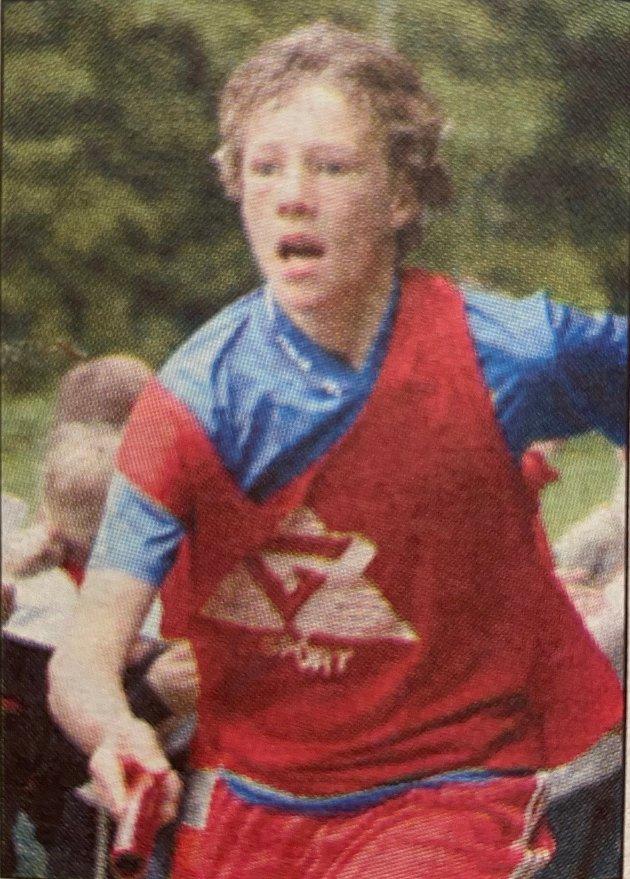 Simen fra Drøbak ga alt under Blomsterløpet som gikk av staben i 2004.