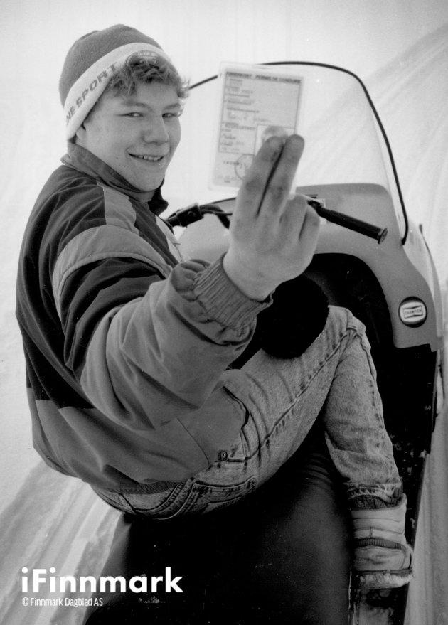 Odd H. Hagerupsen. 03.04.1990.