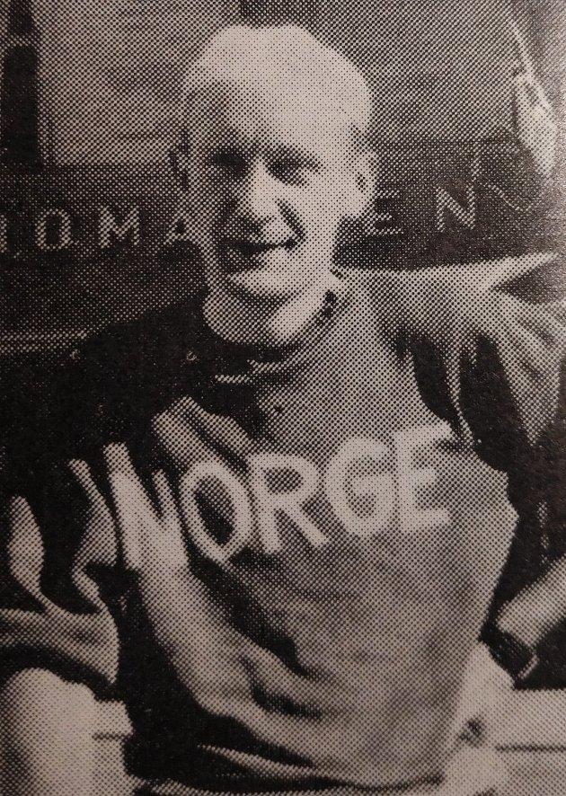 MINNES: Martin Heirsaunet ble i 1953 Norgesmester på to mil tempo landevei.
