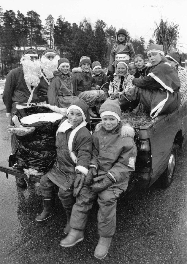 Julegateåpning i Ørje 06.12.93