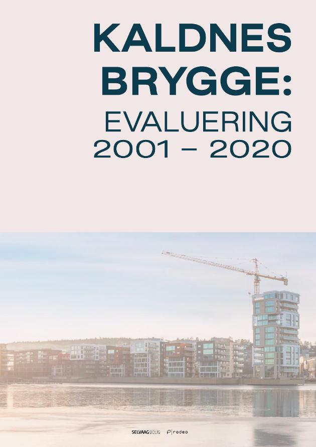 UTFORDRING: Forfatteren oppfordrer Paul Grøtvedt til å lese rapporten om Kaldnes Brygge, slik at de kan ha en konstruktiv diskusjon om både evalueringsmetode og selve området ved neste korsvei.