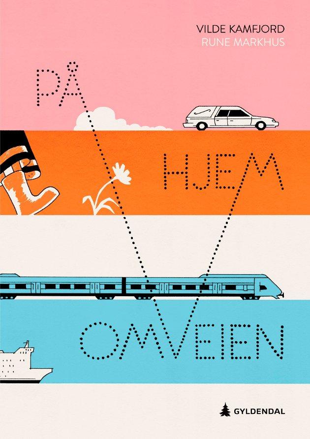 BOK: «På omveien hjem» er Vilde Kamfjords debut som forfatter.