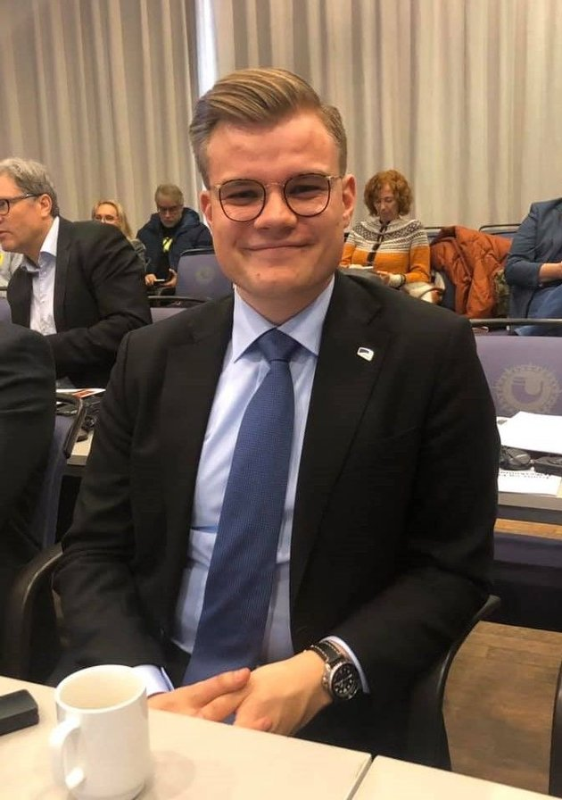 ARBEIDSPLASSER: Vetle Langedahl, vararepresentant til Stortinget for Høyre, mener det er helt nødvendig med arbeidsplasser for å skape levedyktige lokalsamfunn.
