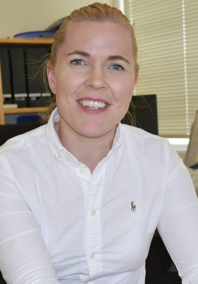 Ny leder? Maja Jørgensen i NAV Vegårshei.