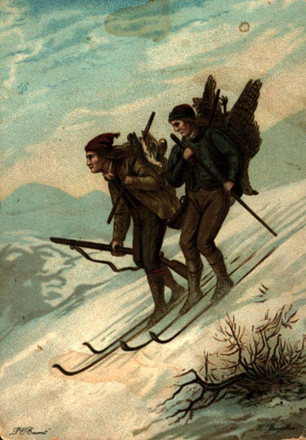 1900-TALLET  I BILDER   GAMLE JULEKORT