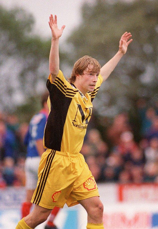 Arild Berg var ofte i en egen klasse på fotballbanen.