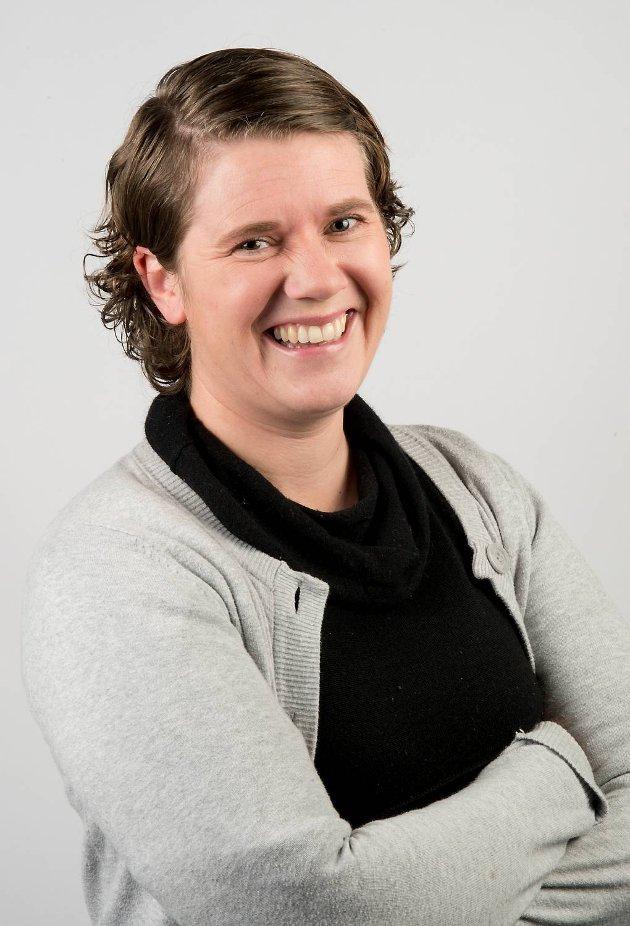 BA-journalist Bente-Line Svellingen Flatekvål.